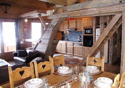 chalet le grenier de germaine vaujany alpes france avec voyages leclerc odalys vacances ref. Black Bedroom Furniture Sets. Home Design Ideas