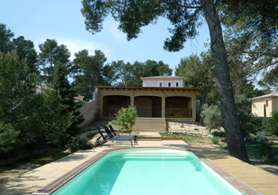 Villa AC3875 for 8 guests in Barbentane, Frankreich