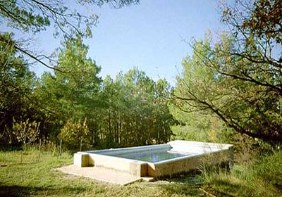 Le puy sainte reparade is een dorp, 25km van het noordelijke aix en provence. de villa staat op het ...