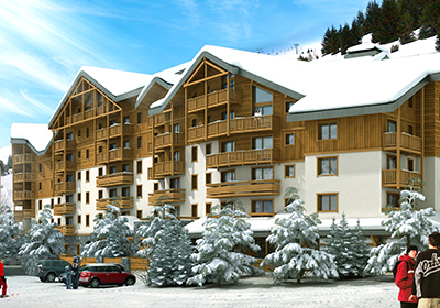 Odalys Auris en Oisans 2p 4 Balcons d'Auréa for 4 guests in Auris en Oisans, France