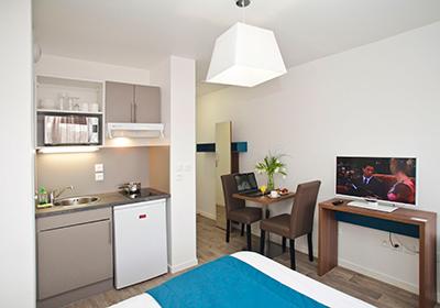 Appart'hôtel Campus Amiens Blamont 2p
