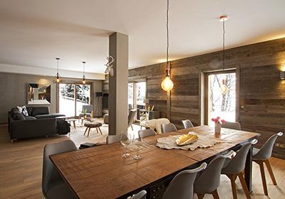 l 39 alpe d 39 huez chalet nuance de blanc. Black Bedroom Furniture Sets. Home Design Ideas